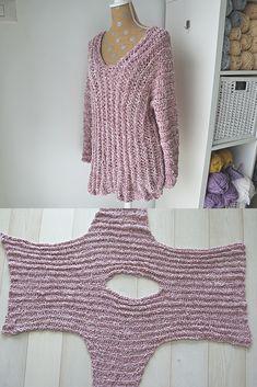 Velvet Tunic - Crochet Pattern - Stricken ist so einfach wie 3 Das Stricke. Velvet Tunic - Crochet Pattern - Knitting is as easy as 3 Knitting boils down to three essential skills. Mode Crochet, Basic Crochet Stitches, Crochet Basics, Knitting Stitches, Knit Crochet, Knitting Patterns, Crochet Patterns, Easy Knitting, Chunky Crochet