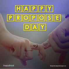 Here are some propose Day images, messages and quotes you can share with your girlfriend or boyfriend on February. Happy Propose Day Quotes, Happy Propose Day Image, Propose Day Images, Love Quotes For Gf, Inspirational Quotes With Images, Quotes For Him, Quote Of The Day, Bae Quotes, Valentine's Day Quotes