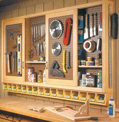 Excellent Design Pegboard Cabinet