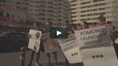 """This is """"KOMONO - The Marine Collection - Berlin Aftermovie"""" by KOMONO on Vimeo, the home for high quality videos and the people who love them."""