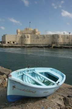 Fort Qaitbey a la bella Alejandría Egipto Or could I have this one? Couldn't row, just sits in it in the yard.