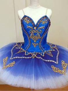 NEW EXCLUSIVE COLLECTION This stunning tutu is one of the most professional stage costumes in our Collections. It can be used for the role of Princess Florina in the Blue Bird, but also for Raym Dance Recital Costumes, Theatre Costumes, Tutu Costumes, Ballet Costumes, Blue Tutu, Ballet Clothes, Dance Outfits, Ballet Outfits, Ballet Beautiful