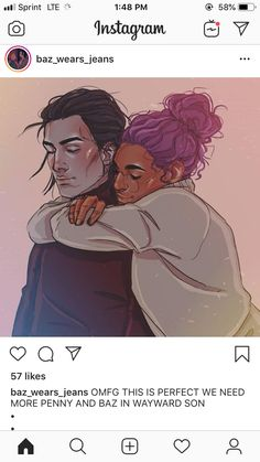 Ugh too cute. Baz and Penny have such a nice friendship, or is it more of a comradery? Simon Snow, Cherry Scones, Carry On Book, Eleanor And Park, Love Simon, You Are The Sun, Rainbow Rowell, Book People, Book Fandoms