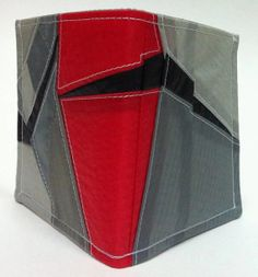 Recycled Paraglider Rad Mens Wallet Eco Geometric by OffChutes