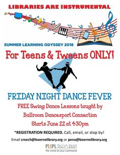 Another great program for teens and tweens at the library this summer! Be sure to register with Alex or Caren!