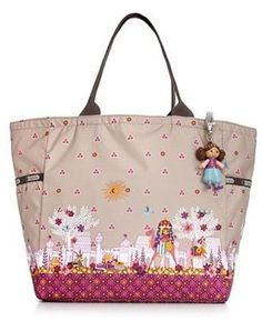 LeSportsac Handbag, It's a Small World Picture Tote-Collaboration with Disney after the famous ride! SO cute!