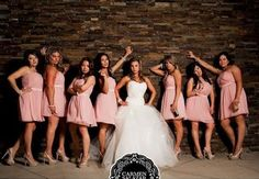 """strike a pose that is inspired by the hilarious """"Bridesmaids"""" movie. Key ingredient – a heavy dose of attitude!"""