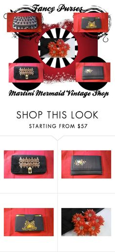 """""""Fancy Purses...."""" by martinimermaid ❤ liked on Polyvore featuring vintage"""