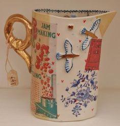 Ceramic Clay, Ceramic Pottery, Pottery Art, Keramik Design, Cool Mugs, Pottery Painting, Clay Crafts, Clay Art, Tea Pots