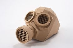 My private project. The cardboard gas mask. Cardboard Costume, Cardboard Mask, Cardboard Box Crafts, Cardboard Sculpture, Paper Mask, 3d Paper, Camp Scout, Mask Template, Animal Masks