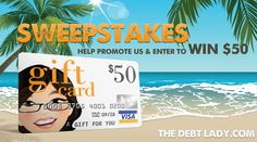 win $50 from the debt lady
