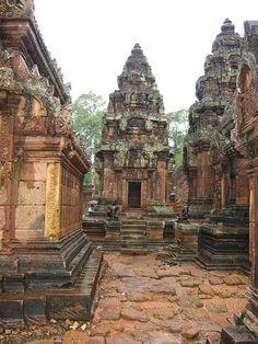 Cambodia, Angkor Wat, Banteay Srei