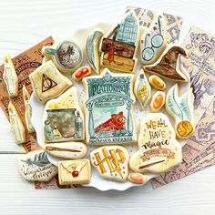 Paint Cookies, Cake Cookies, Cookie Designs, Cookie Ideas, Garri Potter, One Smart Cookie, Harry Potter Cake, Baking Ideas, Cake Art