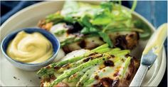 Asparagus and ham Croque Monsieur French Bistro, Recipe Search, Vegetable Pizza, Asparagus, Baking Recipes, Ham, Delicious Desserts, Dinner, Easter 2015