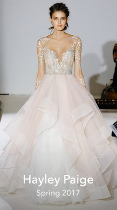 Bridal Fashion Week Spring 2017 : Brides