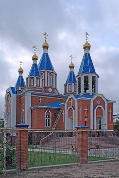 Астраханская область. Камызяк. Церковь Иконы Божией Матери Смоленская. Kamyzyak Astrakhan region