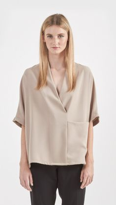 Shaina Mote Calla Top in Bisque | The Dreslyn