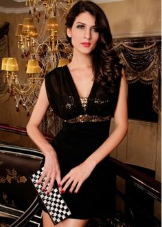 Sexy Sheath Woman Sleeveless Sequins Dress for Club on sale only US$11.95 now, buy cheap Sexy Sheath Woman Sleeveless Sequins Dress for Club at martofchina.com