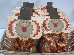 Turkey Treat bags- too cute!