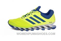 http://www.womenpumashoes.com/on-mens-adidas-springblade-5-yellow-green-running-shoes-online-for-sale.html ON MEN'S ADIDAS SPRINGBLADE 5 YELLOW/GREEN RUNNING SHOES ONLINE FOR SALE Only $88.00 , Free Shipping!