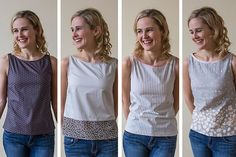 Simple Sleeveless Top Blog: Sewing Projects   Guthrie & Ghani
