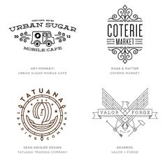 logo design trends 2015 - Google 검색