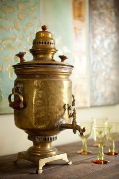 love a working samovar