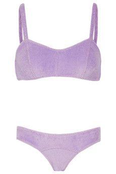 Lisa Marie Fernandez The Genevieve stretch-terry bikini | NET-A-PORTER