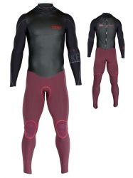 ION Strike Select Semidry 5,5/4,5 DL Wetsuit black/red