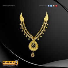 Beautiful Stone Necklace !!  #jewelry #jewellery #gold #accessories #fashion #luxurystyle #style #bhima #ornaments #goldornaments