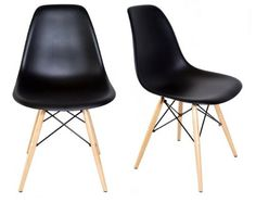 $150 - Chelsea DSW Molded Plastic Dining Side Chairs (Set of 2) (Black, DSW Side Chair) Laura Davidson Furniture http://www.amazon.com/dp/B00IKWTLBY/ref=cm_sw_r_pi_dp_ZXg.ub1RA99M9
