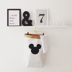 Mickey papírzsák / Mickey paperbag
