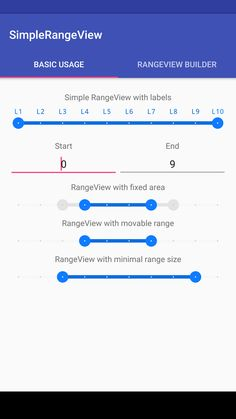 bendikv/simple-range-view: SimpleRangeView is custom view component for Android, that provides for the selection of a range