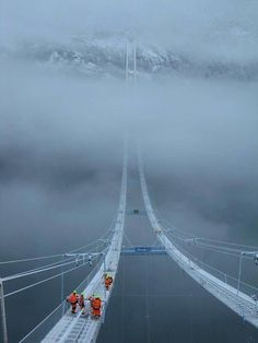 Sky bridge Norway