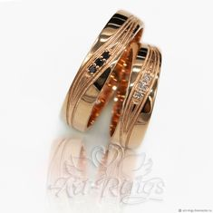 Обручальные кольца парные Арт. 120 - купить или заказать в  интернет-магазине на Ярмарке 93a09987b97