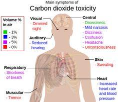 Main symptoms of carbon dioxide toxicity - Hypercapnia - Wikipedia
