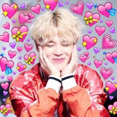 when jimin couldn't choose a bias between jeongguk and taehyung W A R N I N G this story contains: - a polygamous relationship, its a vminkook relationship not. Bts Meme Faces, Foto Bts, K Pop, Bts Emoji, Heart Meme, Cute Love Memes, Bts Memes Hilarious, Bts Reactions, Little Bit