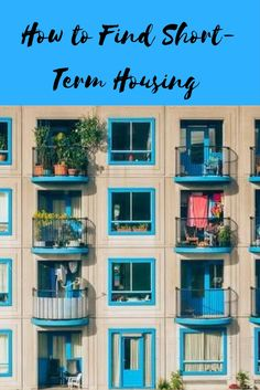 7e7f948295 How To Find Short-Term Housing For Travel Assignments