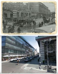 Berlino Friedrichstraße 1945