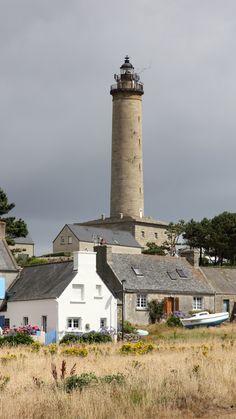 Lighthouse Ile de Batz, Bretagne- by Anke U.