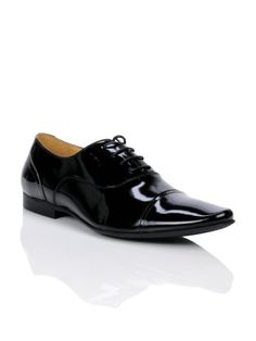 Homme Men Black Formal Oxford Shoes; $103..ooh these are nice