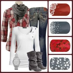 Cause I try to be a country girl ;) I can style with my Jams that way. Mix match jamberry nail wrap designs Jamberry Nail Wraps - Buy 3 get 1 free!! shop online with me www.bbp.jamberrynails.net