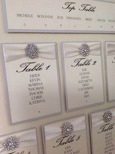 Love this idea for a seating plan