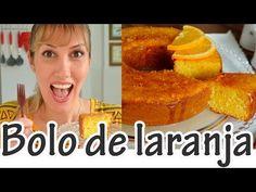 BOLO DE LARANJA COM CASCA I Receitas e Temperos - YouTube