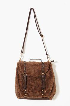 Brooklyn Shearling Backpack
