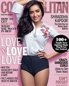 Shraddha Kapoor for Cosmopolitan India February 2017 magazine