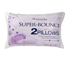 Extra Bouncy Luxury Bounce Back Pillows 2,4,6 /& 8 Packs Of Dreams Pillows