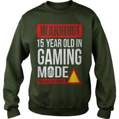 15 Year Old Gamer Birthday TShirt #gift #ideas #Popular #Everything #Videos #Shop #Animals #pets #Architecture #Art #Cars #motorcycles #Celebrities #DIY #crafts #Design #Education #Entertainment #Food #drink #Gardening #Geek #Hair #beauty #Health #fitness #History #Holidays #events #Home decor #Humor #Illustrations #posters #Kids #parenting #Men #Outdoors #Photography #Products #Quotes #Science #nature #Sports #Tattoos #Technology #Travel #Weddings #Women