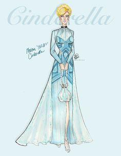 Cinderella 2 by SEWFashion.deviantart.com on @DeviantArt