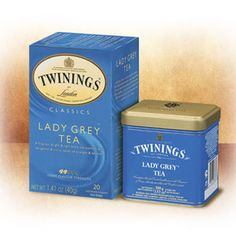 Lady Grey Tea - A refreshing citrus twist to the classic Earl Grey version. Perhaps my single favorite tea right now!